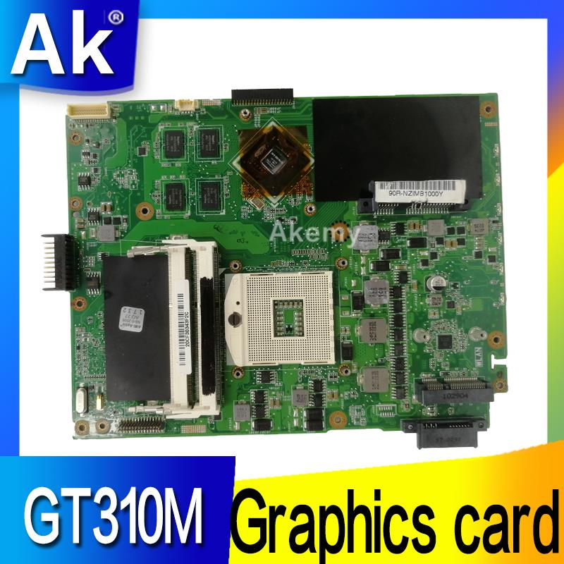 AK K52JC Laptop Motherboard For ASUS K52JC K52JT K52JR Test Original Mainboard GT310M Graphics Card