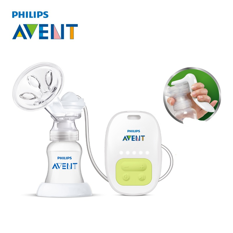 AVENT Single Manual Breast Pump Electric Automatic Massage Feeding BPA Free Convenience Baby Sucking Milk Squeeze