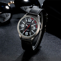 2017 luxury brand Men Watch Retro Design Luxury Men's Watch Stainless steel Leather Analog Quartz Watches