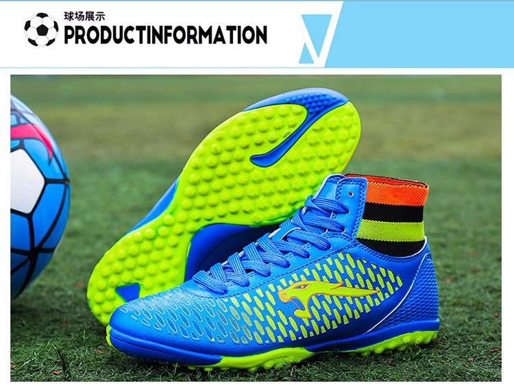 2017 High Ankle Superfly Boys Kids Football Boots Cheap Indoor Soccer Shoes Cleats Girls Sneakers High Quality voetbalschoenen5