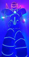 LED Costume2015 /LED Clothing/Light suits/ LED Robot suits/ Luminous costume/ trajes de LED