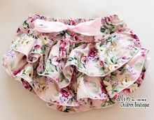 Satin Baby Ruffle Panties,Summer Infant Baby Diaper Cover Pants Frilly Shorts,Newborn Bloomers Photoprops,#P0020