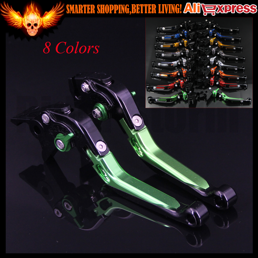 Folding Extendable Motorcycle CNC Brake Clutch Levers For BMW K1200S 2004 2005 2006 2007 2008,R1200RT /SE 2010 2011 2012 2013 motorcycle levers clutch and brake folding lever for xl883 1200 x48 moto modification