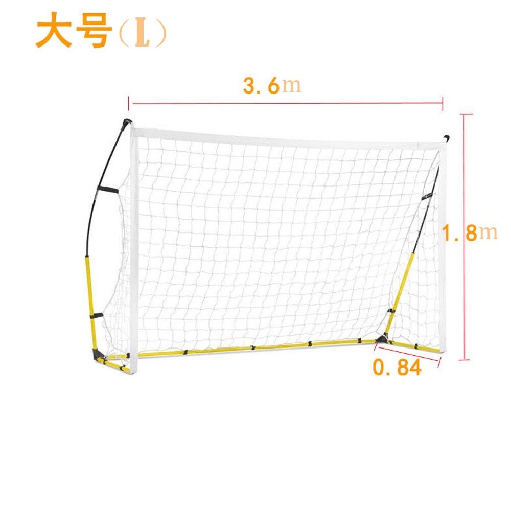 2019 Новая Складная портативная с футбольной целью футбольная тренировочная сетка для детей для взрослых Открытый тренировочный инструмент s m l Бесплатная DHL - 3