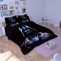 Good Quality Star Wars 3D Bedding Set Print Duvet Cover Twin Full Queen King Beautiful Pattern Real Lifelike Bed Sets Pillowcase