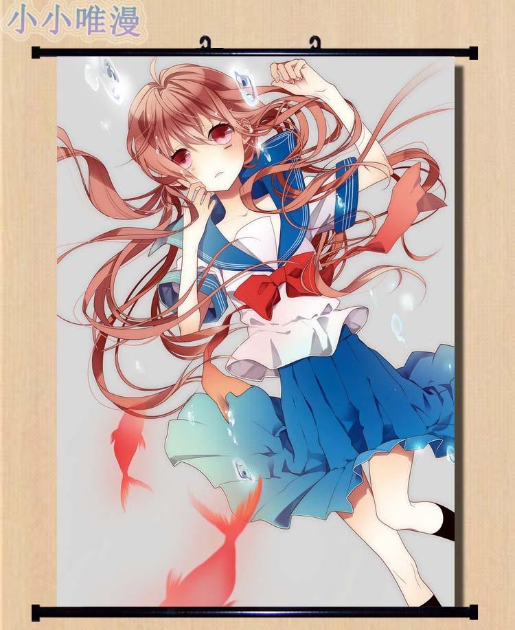 5630 Gasai Yuno Mirai Nikki Decor Poster Wall Scroll cosplay
