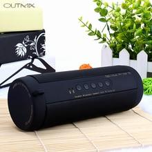 лучшая цена T2 Bluetooth Speaker Bass Waterproof Portable Outdoor LED Wireless Mini Column Box Speaker Support TF card FM Stereo Hi-Fi Box