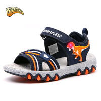 Toddler Boys Sandals 2019 Fashion Light Up Led Glowing Kids Shoes Casual Children Beach Shoes New Summer Sandals for Boys