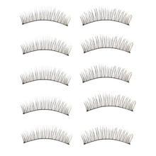 Good Sale New 10 Pairs Long Thick Soft Handmade Fake False Eye Lash Makeup Extensions Aug2