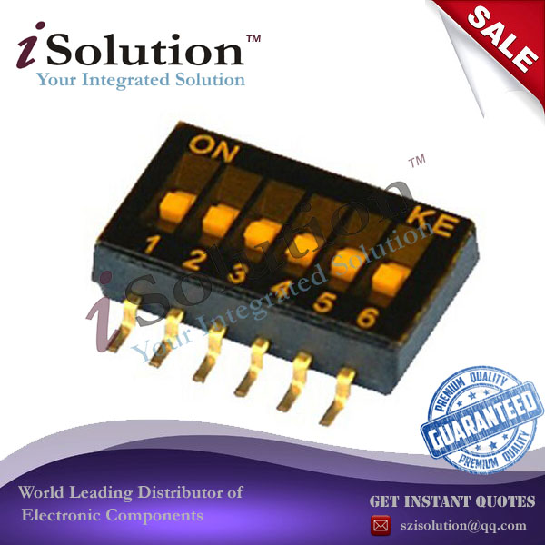 Switches Lights & Lighting Objective Toggle Switches 1.27mm 6 Wei Smd Dip Switch Toggle Switch 1.27-6p Dshp06tsger