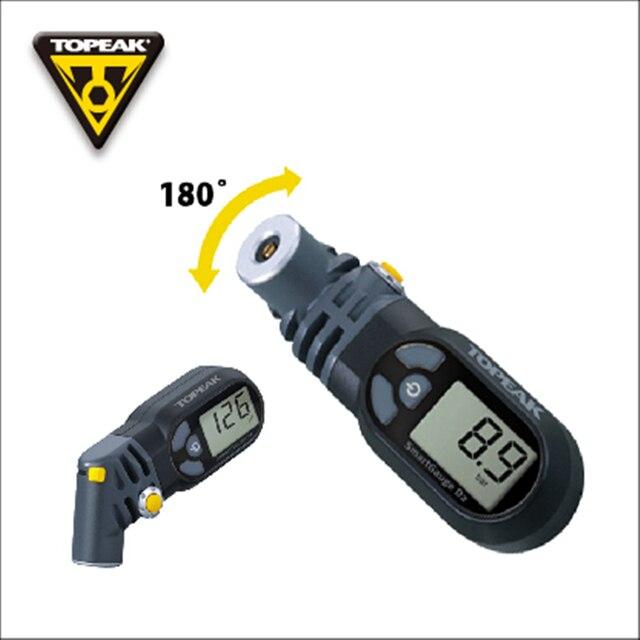 topeak gauge  TOPEAK SmartGauge D2 gomma della bicicletta pressure gauge manometro ...
