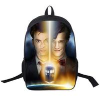 Tv Show Doctor Who Backpack For Teenagers Boys Girls School Bags Women Men Daily Backpack Children
