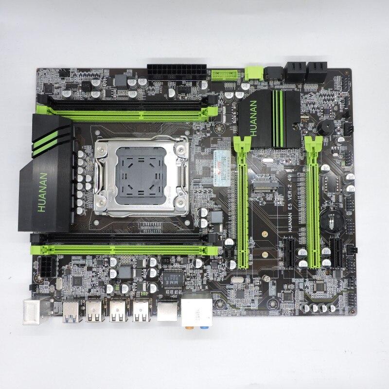 2019 Neuestes Design Huanan X79 Motherboard 2,49/2,49 P Atx Sata3 Usb3.0 Port Pci-e Nvme Ssd M.2 Port Unterstützung 4*16g Speicher Gute Qualität Bequem Und Einfach Zu Tragen