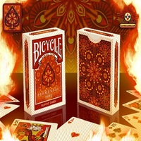 Bicycle Elemental Fire Playing Cards Collectable Poker Limited Edition Deck Magic Cards Magic Tricks Props For