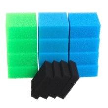 Compatible fish tank sponge filter pack for Juwel Compact / Bioflow 3.0 / M (4x Fine, 4x Coarse, 4x Nitrate, 4x Carbon)