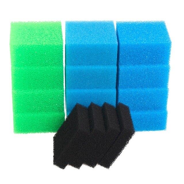 תואם דגי טנק ספוג מסנן חבילה עבור Juwel קומפקטי/Bioflow 3.0 / M (4x בסדר, 4x גס, 4x חנקה, 4x פחמן)