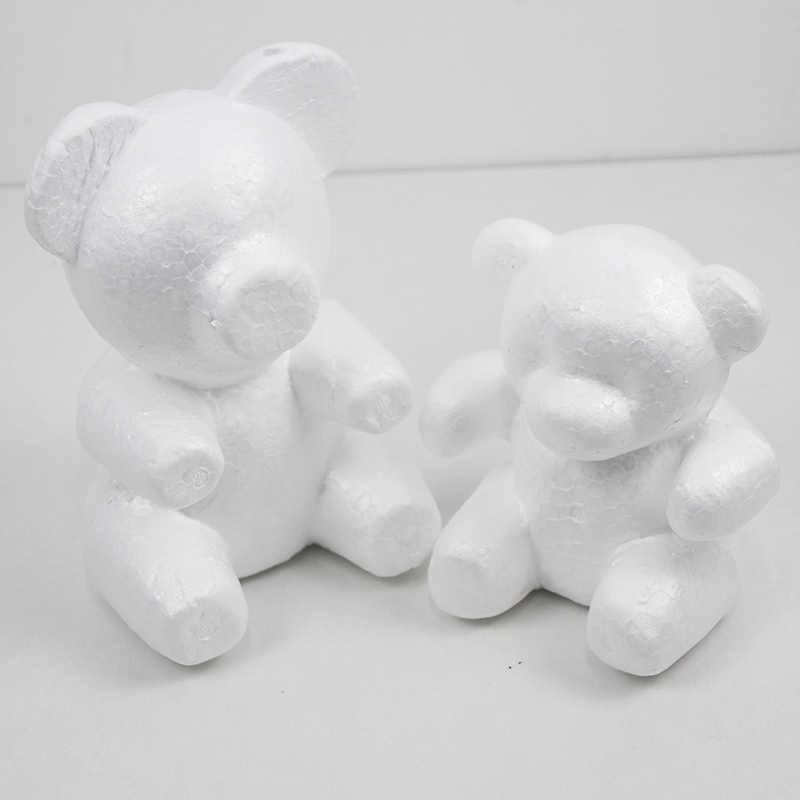 Trang Trí Đám Cưới 16/20 Cm Polystyrene Xốp Mô Hình Gấu Xốp Gấu Trắng In Hình Valentines Day Pokemon Tặng Cho Bé Sinh Nhật