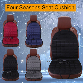 Dewtreetali Electric Heated car seat Cushion Winter Car seat Pad Car Heated Seat Covers Universal Conjoined Supplies 4 colors