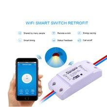3 шт. SONOFF Основной Wi-Fi Переключатель для Алекса Google Home Таймер 10A / 2200 Вт Беспроводной