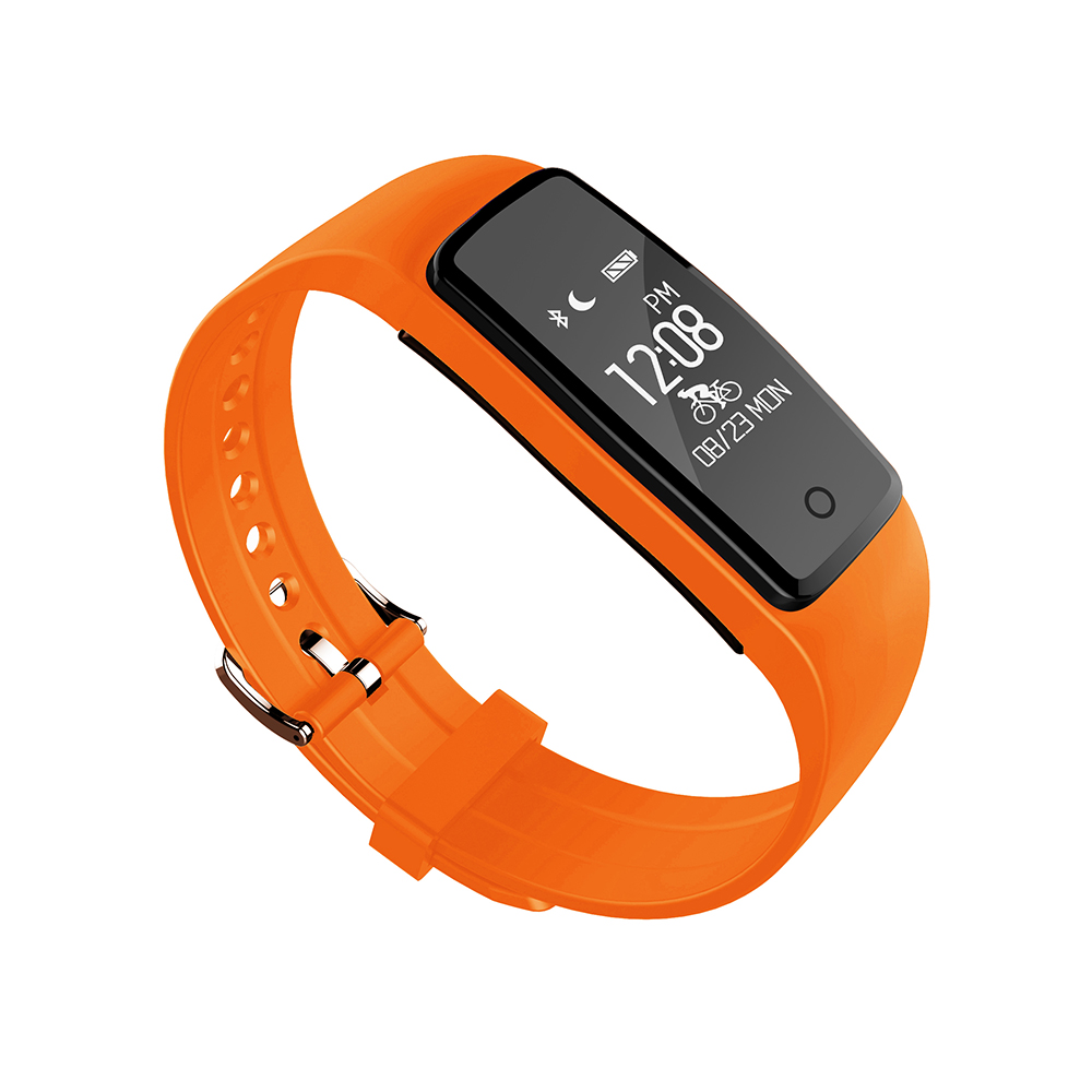 Smart wristband S1 bluetooth with fitness sport tracker sleep Heart rate monitor waterproof Passometer SMN