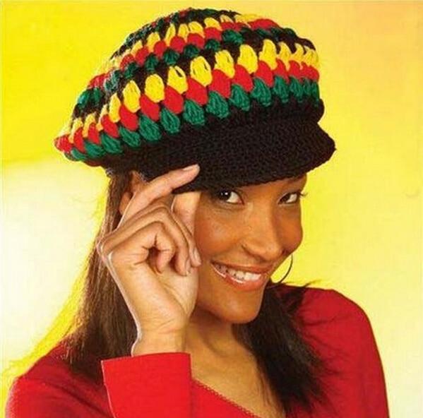 Chinese Rastafarian Popular Bob Marley Hat...