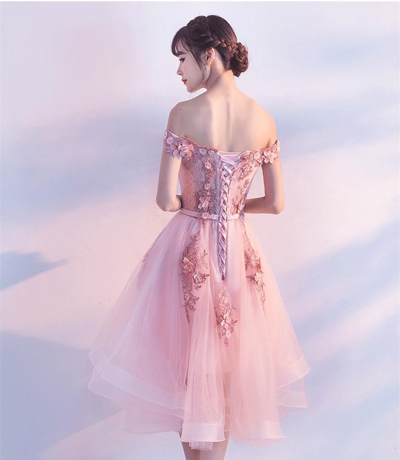 38d2e43b76 Elegancki krótki suknia wieczorowa tiul koronki cekinami nowy Prom formalne  sukienki na przyjęcie panna młoda bankietowa suknie Robe De Soiree w  Elegancki ...