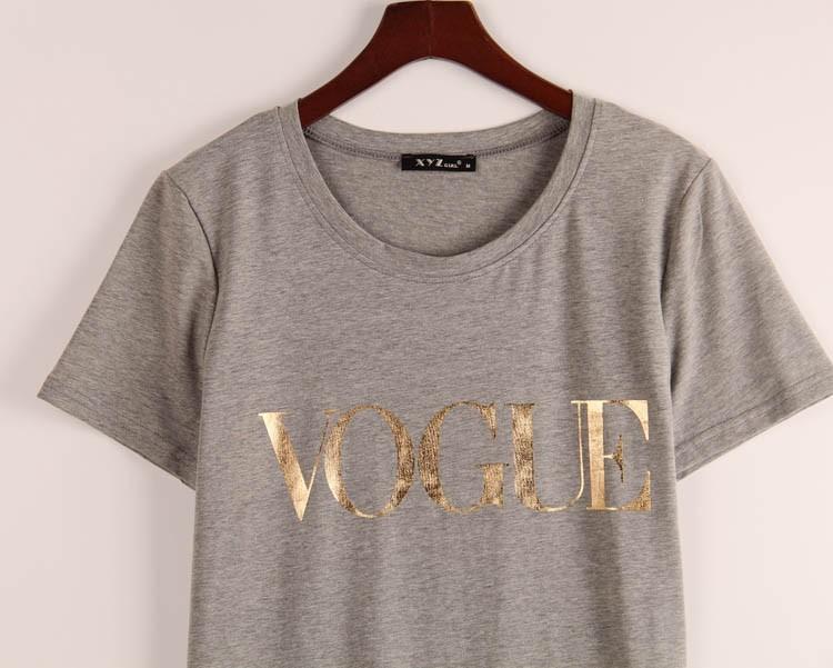 HTB1OB61JVXXXXbIXpXXq6xXFXXXL - VOGUE Printed T-shirt Women Tops Tee Shirt Femme New Arrivals