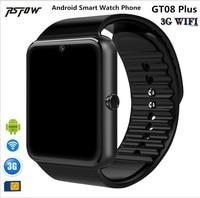 RsFow QW08 Android 4.4 3G WiFi GT08 Smart Watch Phone MTK6572 1.2GHz Dual Core 512MB+4GB Bluetooth 4.0 SmartWatch Pk QW09 DZ09