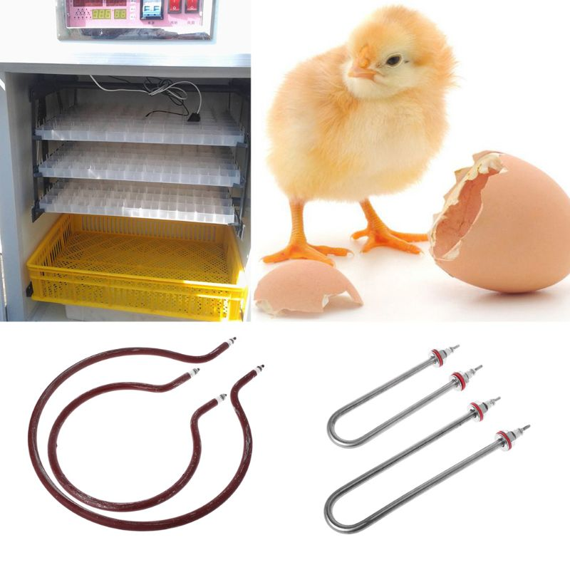 Farm Animal Incubator Heating Humidifying Tube Chicken Poultry Hatching Tools