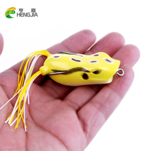 5pcs/lot 5.5cm 12g Hot Frog fishing lure Soft lures artificial fishing bait Snakehead killer Top water Crank beard lure