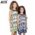 A15 crianças vestido para a menina 2017 verão praia túnica vestido da menina infantil impresso Vestido Adolescente Princesa Projeto Vestido 8 10 12 14 16 Anos