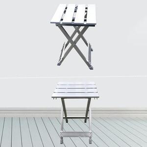 Image 5 - Wygodny składany stołek Camping wysoka intensywność odporna na zarysowania stopu aluminium oszczędność miejsca przenośne krzesło zewnątrz antypoślizgowe