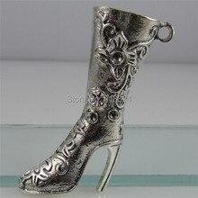 Бесплатная доставка (5 шт./лот) 12457 Сексуальная Женщина Туфли на Высоком каблуке сапоги Подвеска Fit 2.5 мм Горный Хрусталь