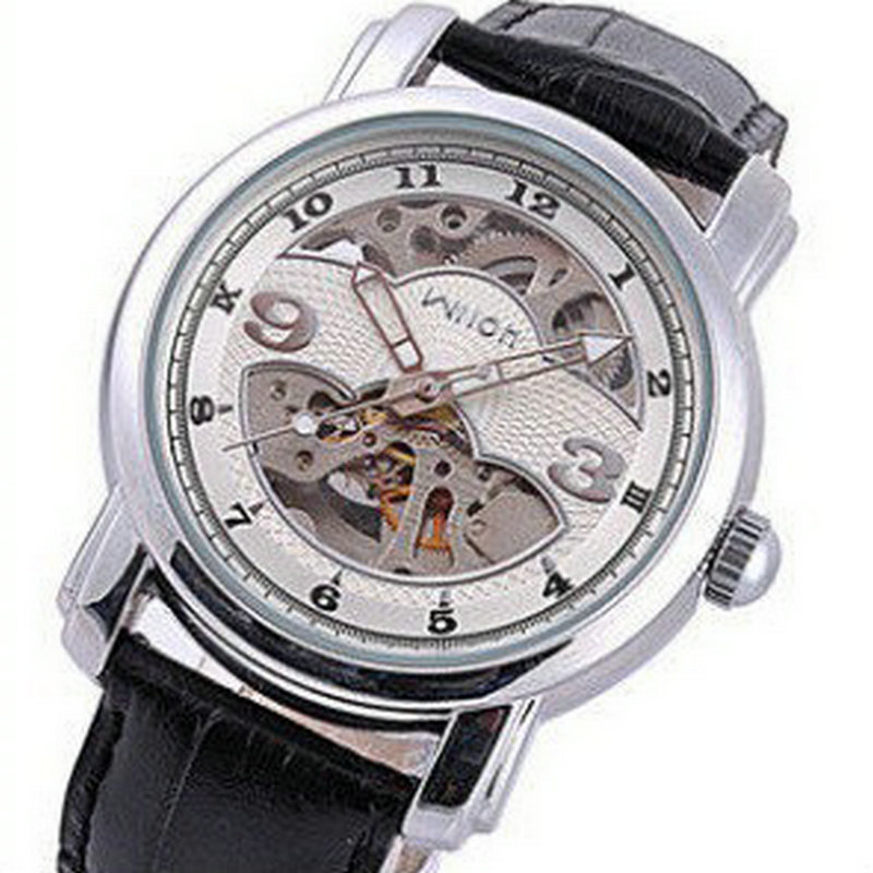 ФОТО Authentic wilon veyron j mechanical watches automatic watch male mechanical skin restoring ancient ways with men watch bag mail