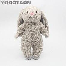 YOOOTAON kAWAII bunny rabbit plush kids toys baby stuffed dolls for children girls kids toys 34cm high quality