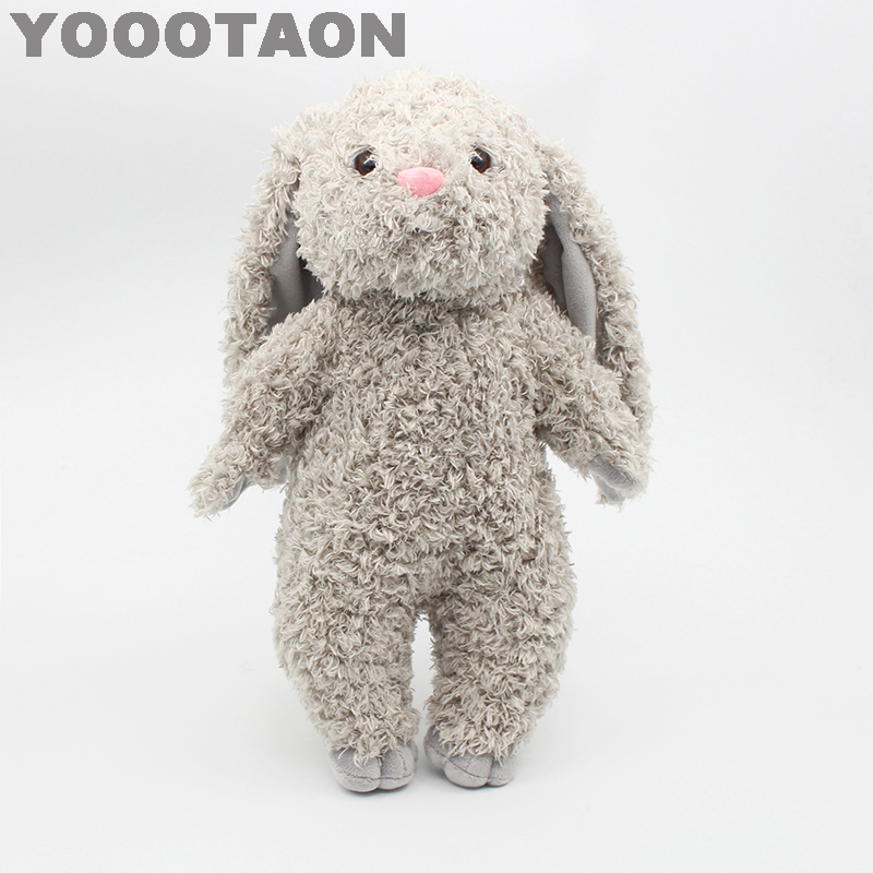 YOOOTAON kAWAII bunny rabbit plush kids toys baby stuffed dolls for children girls kids toys 34cm high quality