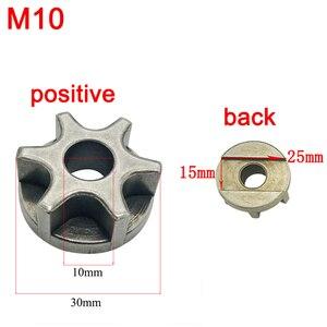 M10 M14 M16 Звездочка цепная пила Шестерня для 100 115 125 150 180 Замена для угловых шлифовальных машин Шестерня цепная пила кронштейн электроинструмент