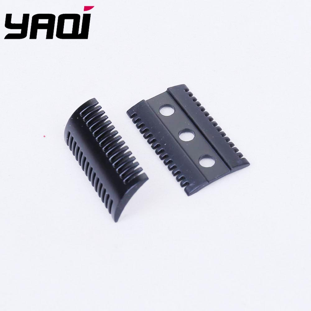 Yaqi Matte Black Mellon Safety Razor Head Without Logo For Shaving Razors