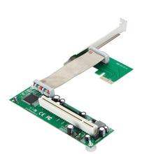 PCI-e для PCI адаптер слот для карт расширения поддержка карты захвата Золотой Налоговую карточку инновационный звуковой карты