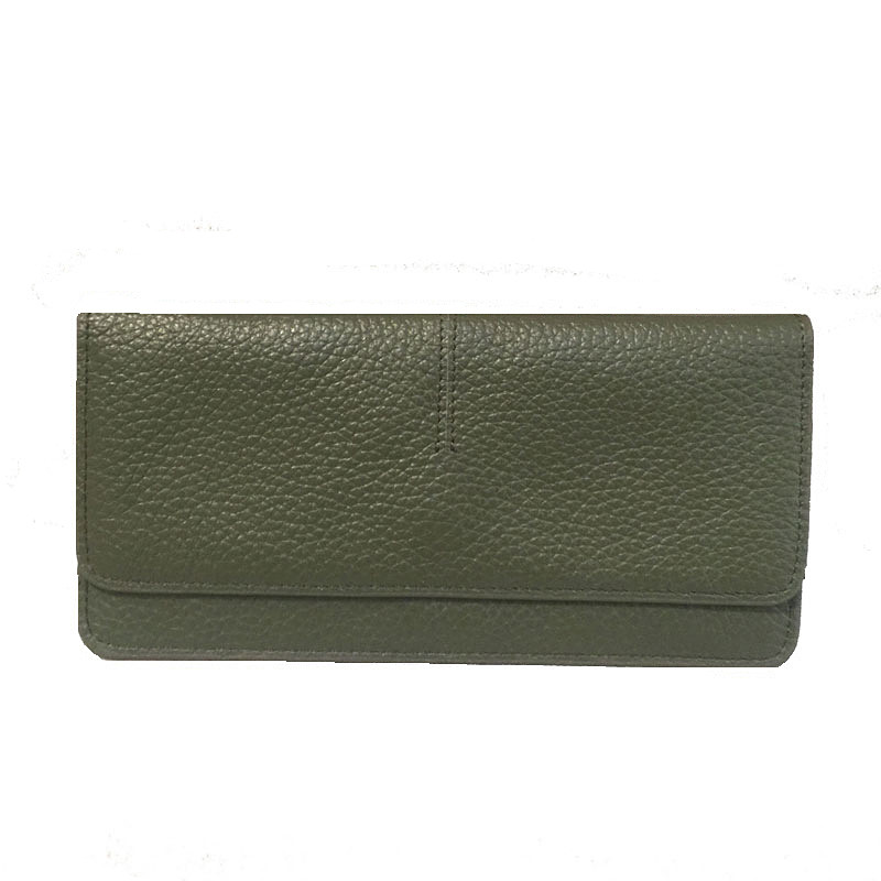 100% Genuine Leather Women Wallet Purses New Design Fashion