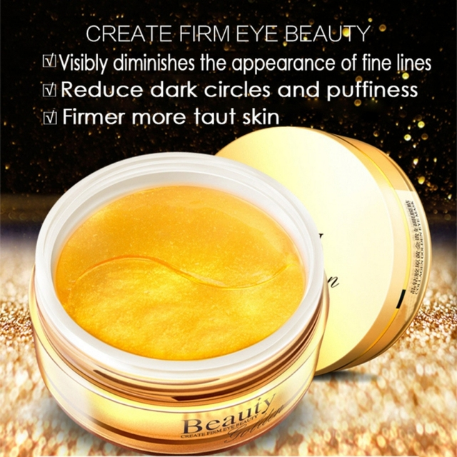 Collagen Gold Eye Mask Spot Patch 30 Pairs Dark Circles Moisturizing Whitening Ageless Sleeping