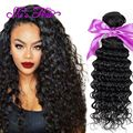 3 Bundles Malaysian Deep Wave Virgin Hair 7A Malaysian Curly Hair Extensions Malaysian Virgin Hair Deep Curly Human Hair Weave
