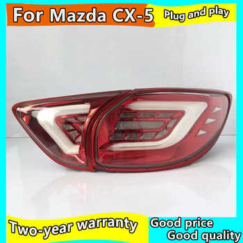 Car Styling for Mazda CX-5 Taillights 2013-2018 CX5 LED Tail Lamp New CX-5 LED Rear Lamp DRL+Brake+Park+Signal led light - DISCOUNT ITEM  20 OFF Automobiles & Motorcycles