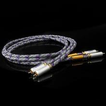 Пара XLO signaty S3-1 Одноконтурный аудиокабель HiFi RCA Hi-end усилитель CD межблочный 2RCA к 2RCA мужской аудио кабель