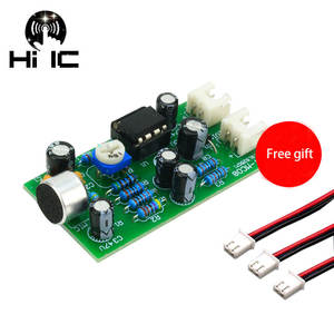 Amplifier-Module Microphone Audio Sound-Voice DC Pickup 12V Output-Gain Dual-Track Adjustable