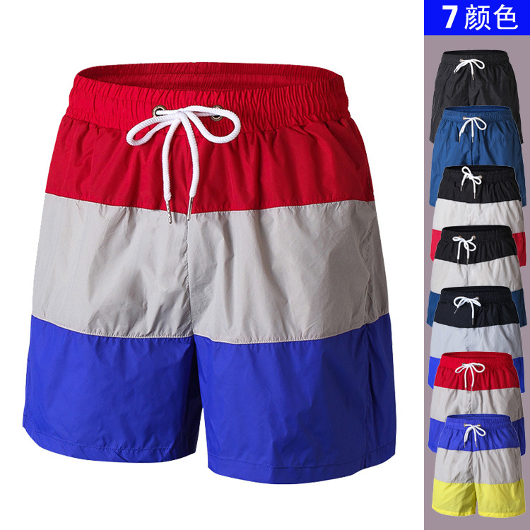 2018 New Quick Dry Mens   Shorts   Summer Fitness Men   Board     Shorts   Sportwear Bodybuilding Beach   Shorts   for Men Gyms   Shorts   Men