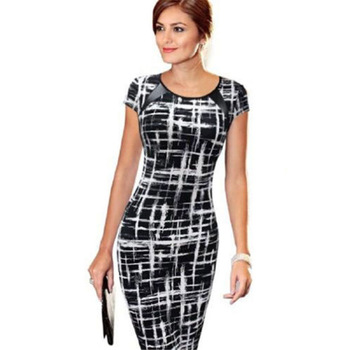 Women Dresses Bodycon Office Formal