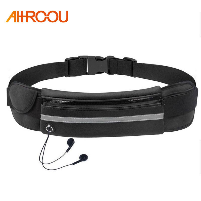 Men Women Running Waist Bag Fitness Packs Mobile Phone Holder Jogging Sports Running Belt Water Bags