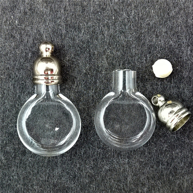 100 шт., маленькие подвески для ожерелья, 20 х12 мм