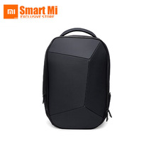 New Original Xiaomi Men Cool Style Multifunctional Waterproof Backpack Waterproof Body Durable and Geometry Fashion Design